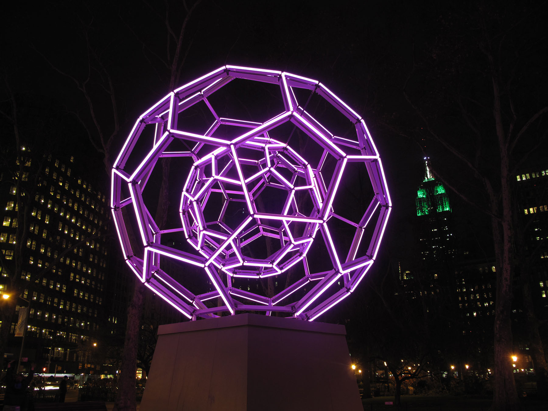 <span>Residential Projects</span>Bucky Ball – Madison Square Park