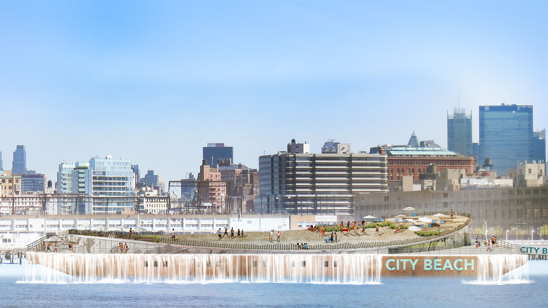 City Beach NYC featured online and in print