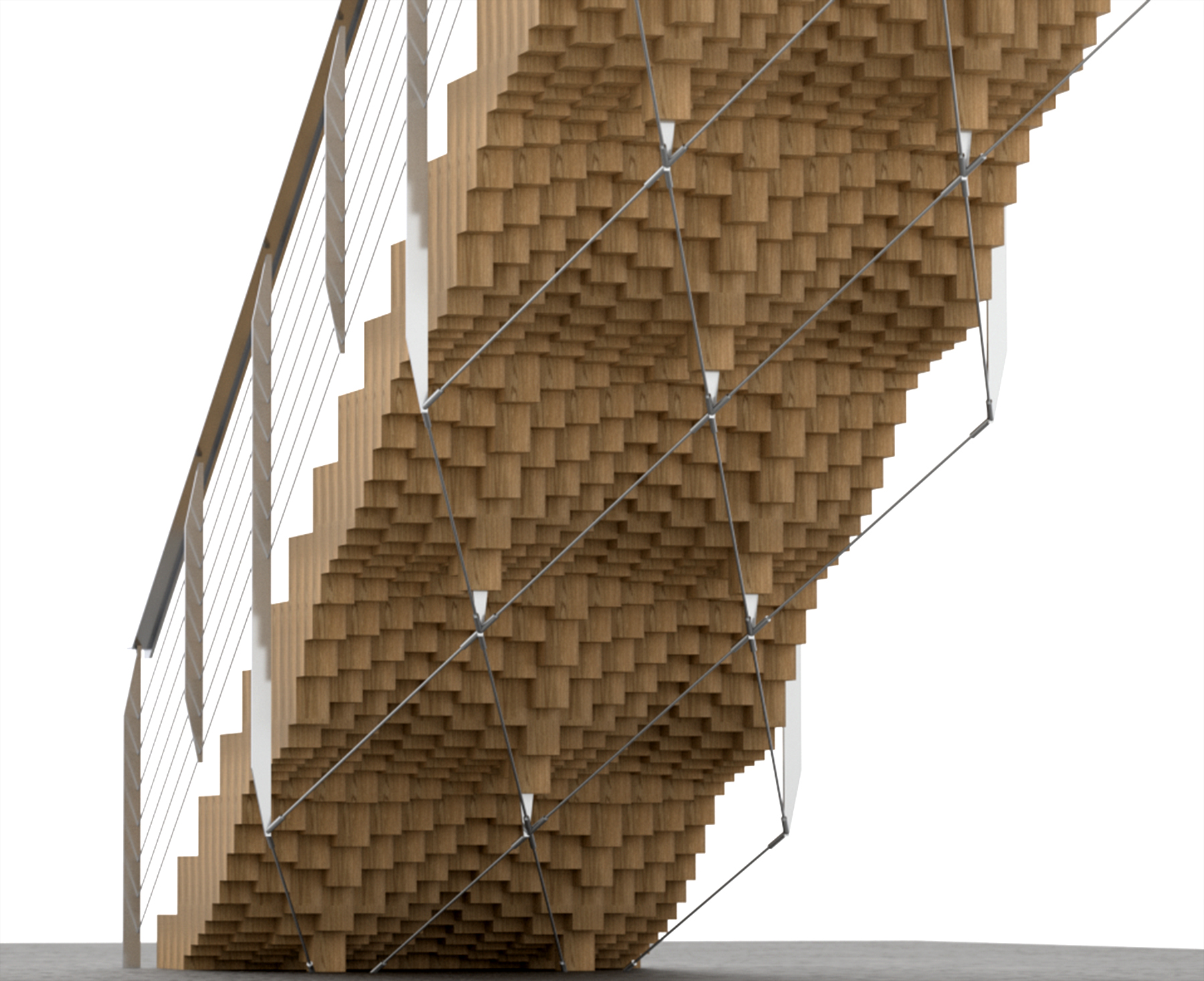 <span>Special Projects</span>End Grain Stair Research Project